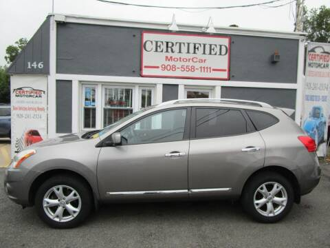 2011 Nissan Rogue for sale at CERTIFIED MOTORCAR LLC in Roselle Park NJ