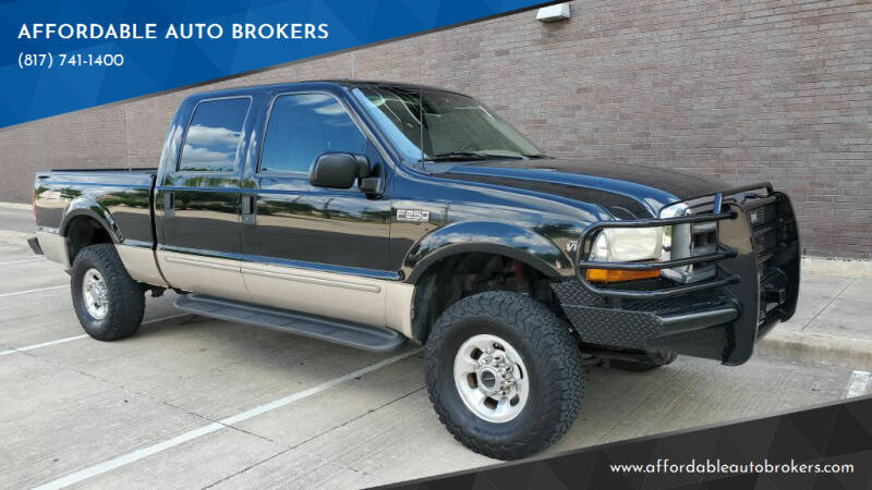 1999 Ford F-250 Super Duty for sale at AFFORDABLE AUTO BROKERS in Keller TX