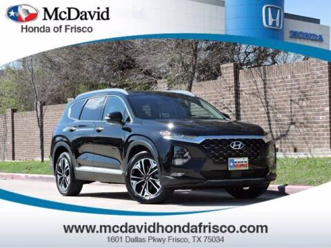 2020 Hyundai Santa Fe for sale at DAVID McDAVID HONDA OF IRVING in Irving TX