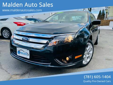 2010 Ford Fusion for sale at Malden Auto Sales in Malden MA