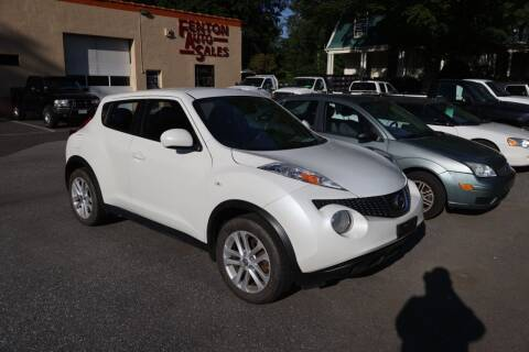 2014 Nissan JUKE for sale at FENTON AUTO SALES in Westfield MA
