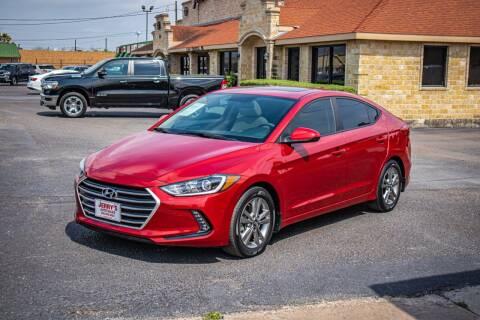 2017 Hyundai Elantra for sale at Jerrys Auto Sales in San Benito TX