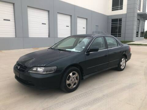 2000 Honda Accord for sale at Dynasty Auto in Dallas TX