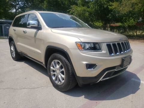 2014 Jeep Grand Cherokee for sale at Thornhill Motor Company in Lake Worth TX
