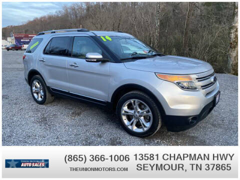 2014 Ford Explorer for sale at Union Motors in Seymour TN