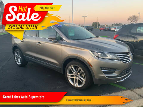2017 Lincoln MKC for sale at Great Lakes Auto Superstore 2 in Waterford MI