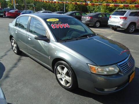 2006 Saturn Ion for sale at River City Auto Sales in Cottage Hills IL