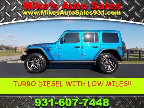 2021 Jeep Wrangler Unlimited for sale at Mike's Auto Sales in Shelbyville TN