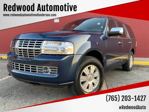 2014 Lincoln Navigator for sale at Redwood Automotive in Anderson IN