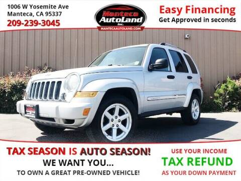2007 Jeep Liberty for sale at Manteca Auto Land in Manteca CA