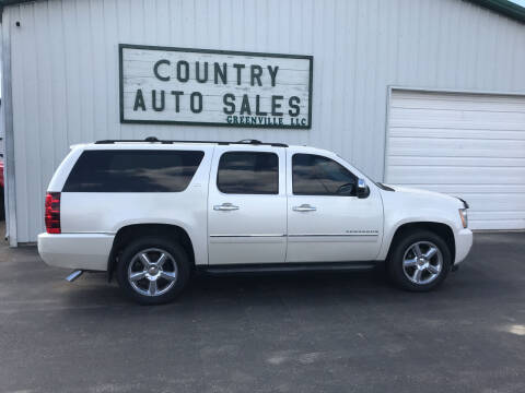 2011 Chevrolet Suburban for sale at COUNTRY AUTO SALES LLC in Greenville OH