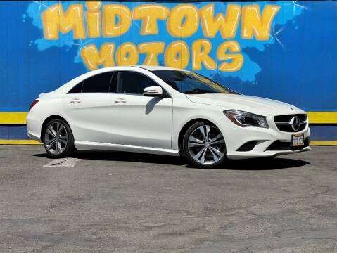 2014 Mercedes-Benz CLA for sale at Midtown Motors in San Jose CA