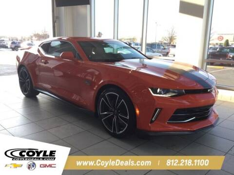 2018 Chevrolet Camaro for sale at COYLE GM - COYLE NISSAN - Coyle Nissan in Clarksville IN