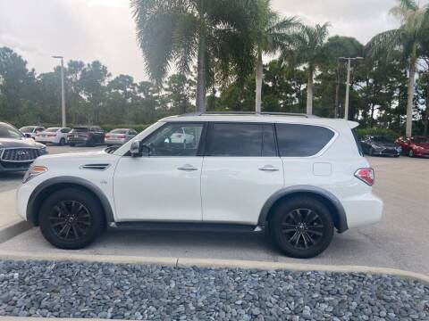 2018 Nissan Armada for sale at Infiniti Stuart in Stuart FL