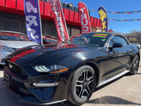 2018 Ford Mustang for sale at Duke City Auto LLC in Gallup NM