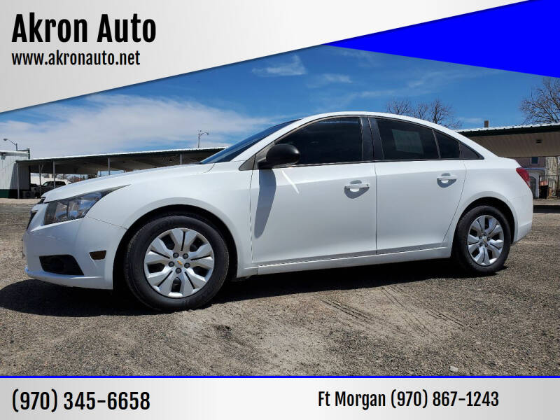2014 Chevrolet Cruze for sale at Akron Auto in Akron CO