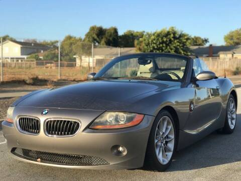 2003 BMW Z4 for sale at Silmi Auto Sales in Newark CA