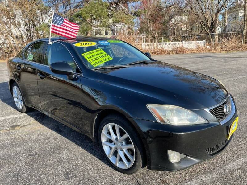 2006 Lexus IS 250 for sale at Fields Corner Auto Sales in Dorchester MA