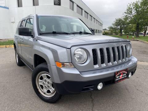 2015 Jeep Patriot for sale at JerseyMotorsInc.com in Teterboro NJ