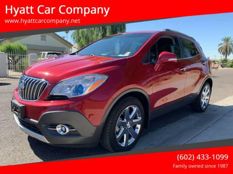 2016 Buick Encore for sale at Hyatt Car Company in Phoenix AZ