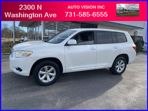 2008 Toyota Highlander for sale at Auto Vision Inc. in Brownsville TN