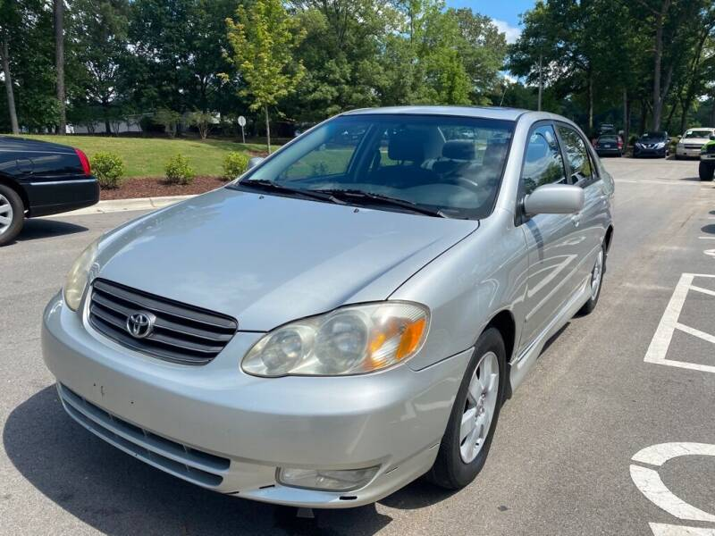 2004 Toyota Corolla for sale at JV Motors NC LLC in Raleigh NC