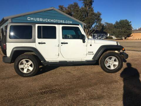 2018 Jeep Wrangler JK Unlimited for sale at Chubbuck Motor Co in Ordway CO
