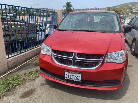 2015 Dodge Grand Caravan for sale at GRAND AUTO SALES - CALL or TEXT us at 619-503-3657 in Spring Valley CA