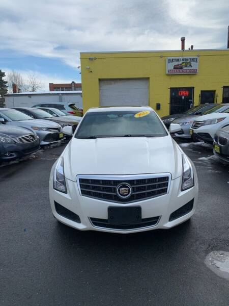 2013 Cadillac ATS for sale at Hartford Auto Center in Hartford CT