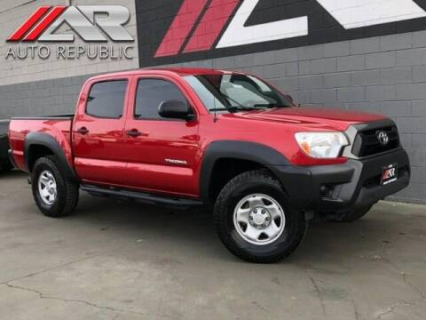 2013 Toyota Tacoma for sale at Auto Republic Fullerton in Fullerton CA