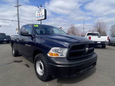2012 RAM Ram Pickup 1500 for sale at S&S Best Auto Sales LLC in Auburn WA