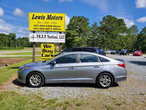 2016 Hyundai Sonata for sale at Lewis Motors LLC in Deridder LA