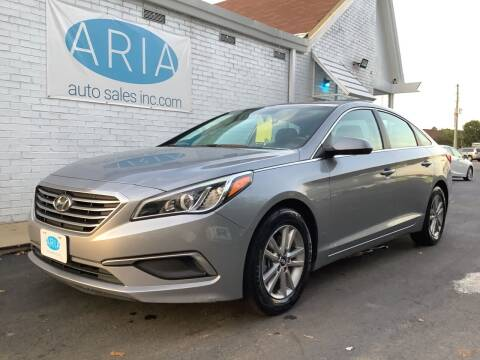 2016 Hyundai Sonata for sale at ARIA  AUTO  SALES in Raleigh NC
