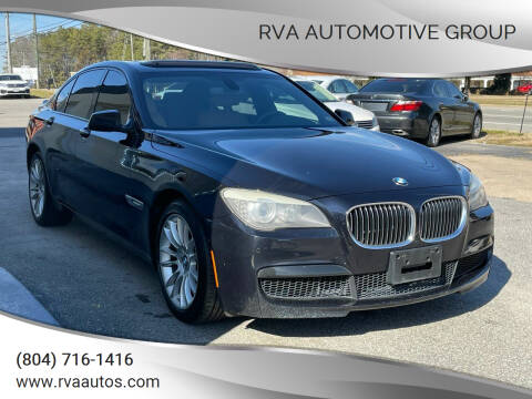 2011 BMW 7 Series for sale at RVA Automotive Group in North Chesterfield VA