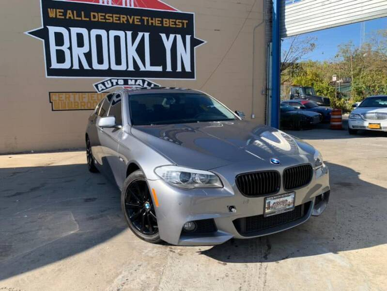 2013 BMW 5 Series for sale at Excellence Auto Trade 1 Corp in Brooklyn NY