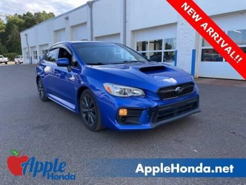 2019 Subaru WRX for sale at APPLE HONDA in Riverhead NY