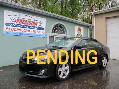 2012 Toyota Camry for sale at Precision Automotive Group in Youngstown OH