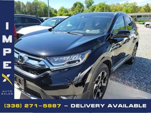 2017 Honda CR-V for sale at Impex Auto Sales in Greensboro NC