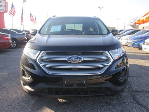 2018 Ford Edge for sale at T & D Motor Company in Bethany OK