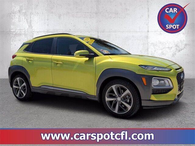 2019 Hyundai Kona for sale at Car Spot Of Central Florida in Melbourne FL