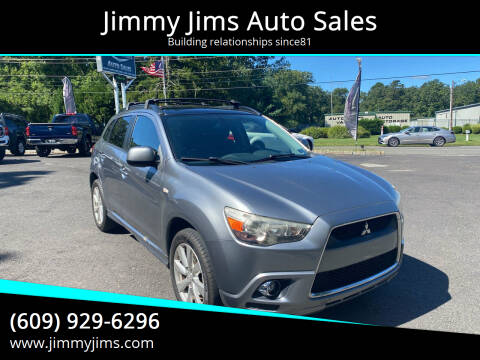 2012 Mitsubishi Outlander Sport for sale at Jimmy Jims Auto Sales in Tabernacle NJ