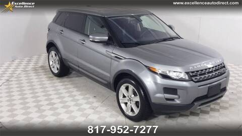 2013 Land Rover Range Rover Evoque for sale at Excellence Auto Direct in Euless TX