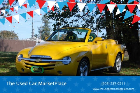 2004 Chevrolet SSR for sale at The Used Car MarketPlace in Newberg OR