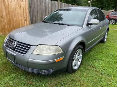 2004 Volkswagen Passat for sale at ALL Motor Cars LTD in Tillson NY