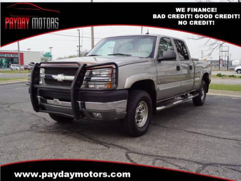2003 Chevrolet Silverado 2500HD for sale at Payday Motors in Wichita And Topeka KS