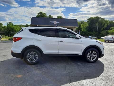 2016 Hyundai Santa Fe Sport for sale at G AND J MOTORS in Elkin NC