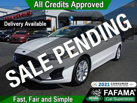 2020 Ford Fusion for sale at FAFAMA AUTO SALES Inc in Milford MA
