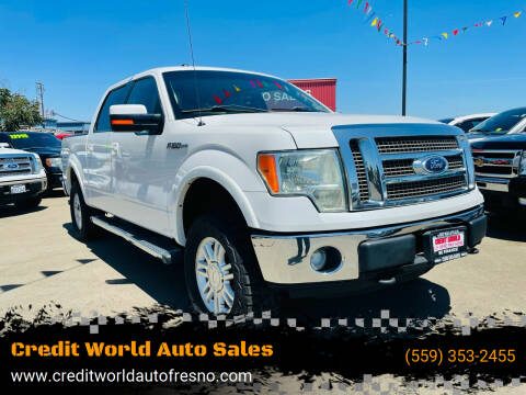 2012 Ford F-150 for sale at Credit World Auto Sales in Fresno CA