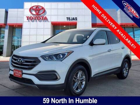 2018 Hyundai Santa Fe Sport for sale at TEJAS TOYOTA in Humble TX