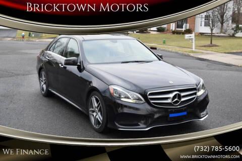 2014 Mercedes-Benz E-Class for sale at Bricktown Motors in Brick NJ